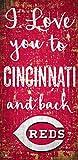 MLB Cincinnati Reds I Love You to Signcincinnati Reds I Love You to Sign, Team, One Sizes