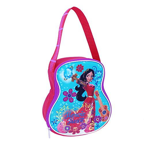 Shaped Lunch - Disney EL29471-AL-RE00 Elena Guitar Shaped Lunch Kit Insulated, Blue
