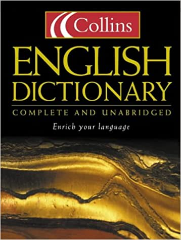 Collins English Dictionary : Complete and Unabridged: Amazon