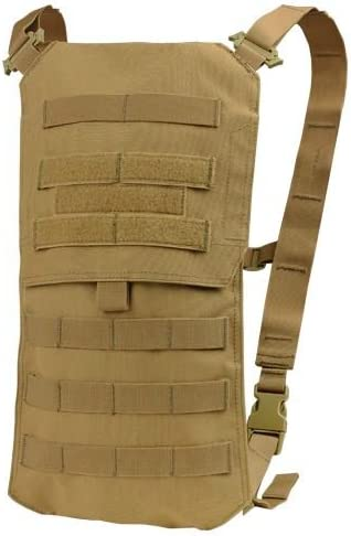 Condor Tactical Oasis Hydration Carrier with Bladder – Brown