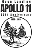 Moon Landing Anniversary Journal: The 50th Moon Landing Celebration and Anniversary Notebook with Fun Facts
