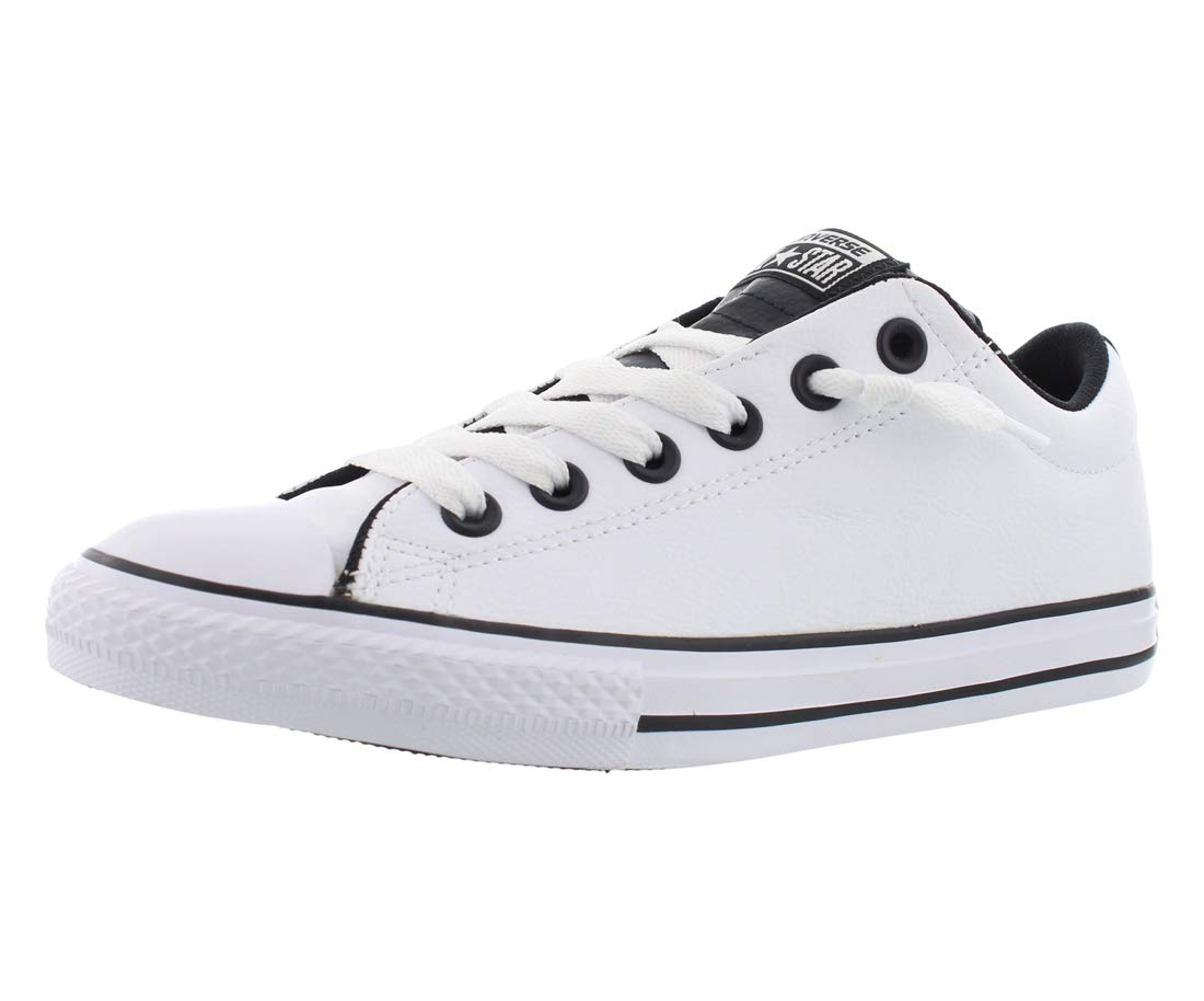 c591dccb55b8 Galleon - Converse Chuck Taylor All Star Street Slip Fashion Sneaker Shoe -  White Black White - Boys - 5