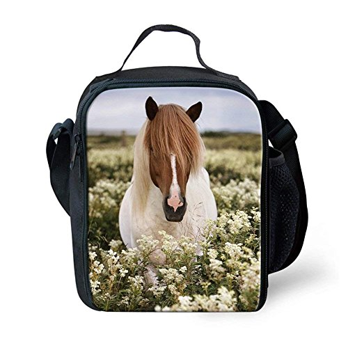 2 For Horse Horses Lunch Bag 5 Horse Small Customizable And Showudesigns Children xzwRB41tn