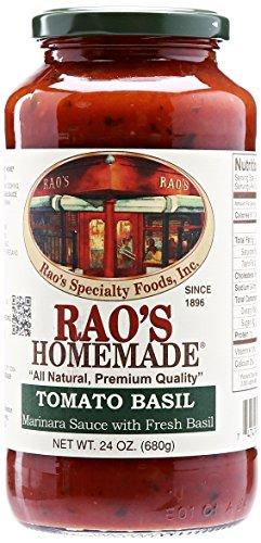 Rao's Homemade Tomato Basil Sauce, 24 Ounce Jar