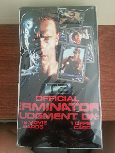 Official Terminator 2 Judgement Day Movie Trading Cards Sealed Box of Packages ()