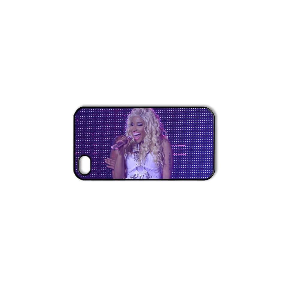DIYCase Singer Series Nicki Minaj   Stylish Phone Case Cover for Iphone 4 4S 4G   Back Cover Custom   1381971