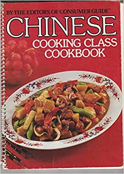 Book Chinese Cooking Class Cookbook