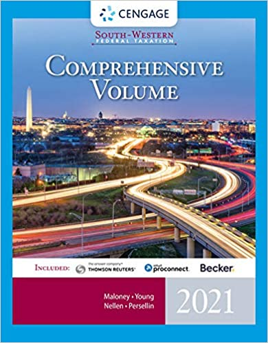 South-Western Federal Taxation 2021: Comprehensive, 44th Edition - Original PDF
