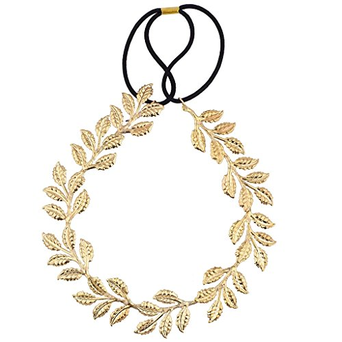 Lux Accessories Goldtone Goddess Leaf Head wrap for $<!--$9.95-->
