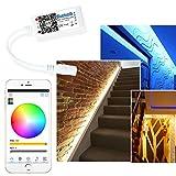 ARILUXÂ AL-LC07 Super Mini RGBW LED Bluetooth 4.0 APP Controller Dimmer For Strip Light DC12-24V