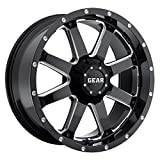 Gear Alloy 726MB BIG BLOCK Wheel with Milled Finish (18x9''/5x5.9'', +18mm Offset)