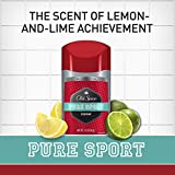 Old Spice Deodorant for Men, Pure Sport Scent, Red