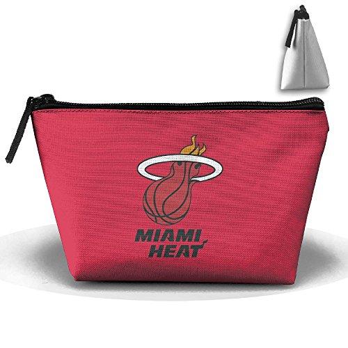 Beert Lester Women's Miami-Heat-Primary-Logo Toiletry Bag Fashion Household Storage Pack