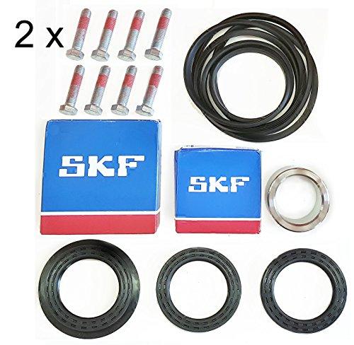 - 2 x Bearing Kit fits ELS, Wascomat/SKF W3105-3130, W4105-4130,W5105-5130,E625 (13)