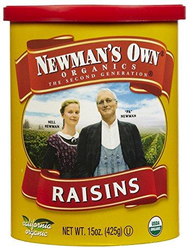 Newman's Own Organics Organic California Raisins, 15 oz