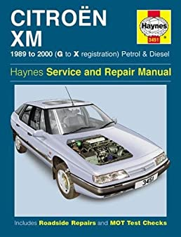 citroen xm petrol diesel 89 00 g to x haynes service and repair rh amazon com