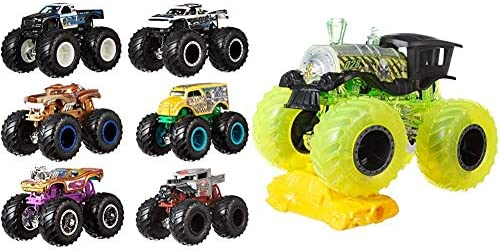 Buy Hot Wheels Monster Trucks Monster Trucks 1 64 Basic Assortment Online At Low Prices In India Amazon In