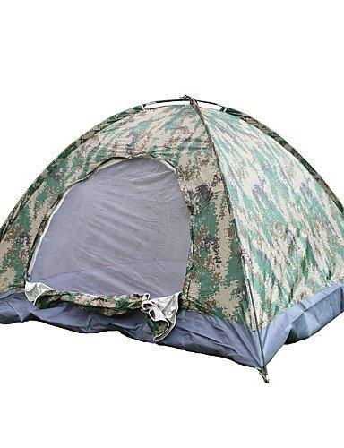 ZQ Zelt ( Camouflage , 3-4 Personen ) - Anti-Insekten/Gut belüftet