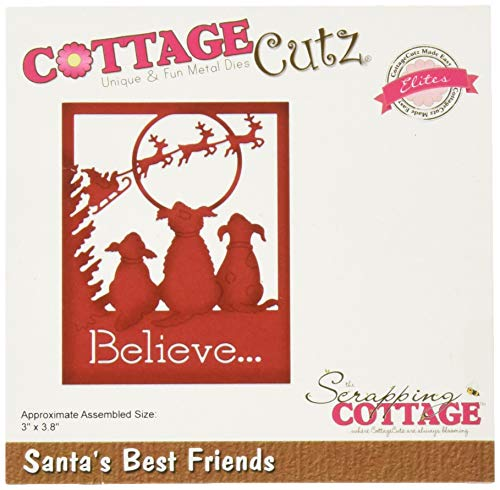 CottageCutz Santa's Best Friends 3