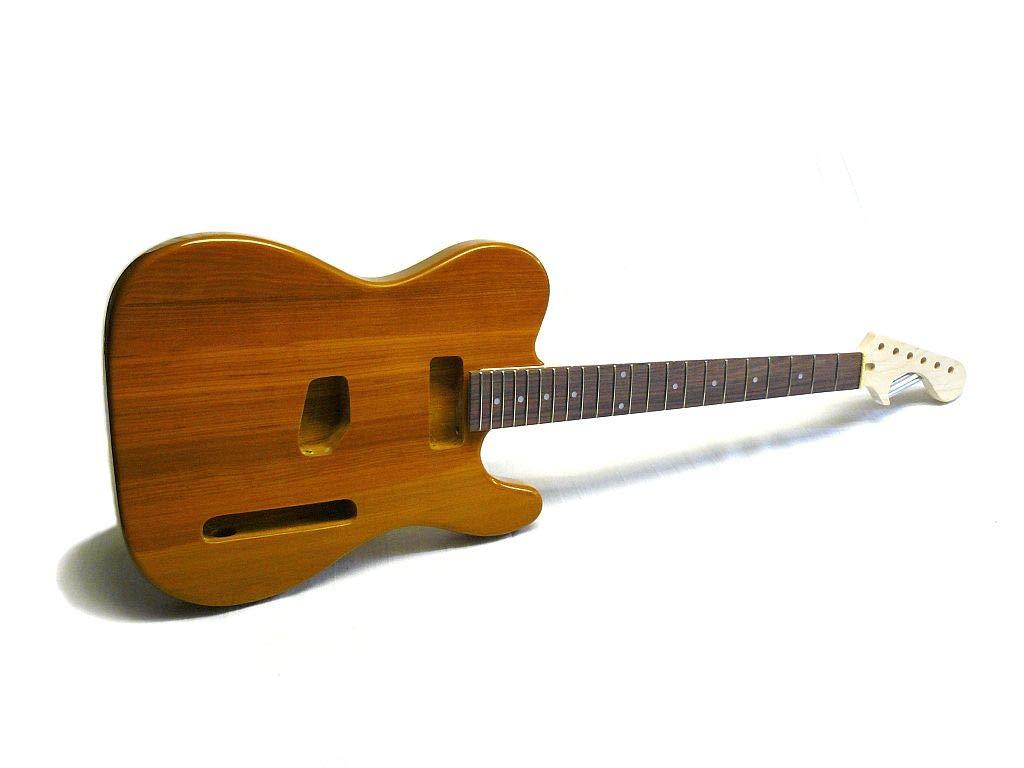 Kit de guitarra eléctrica ML-Factory® MLT Butterscotch, Ash ...