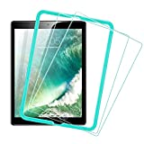 [2 Pack] ESR iPad 2018 Screen Protector/The New iPad Screen Protector, [Easy Installation Frame], Tempered Glass for iPad 2018/2017/iPad Air 2/iPad Air/iPad Pro 9.7/A1822