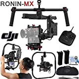 DJI Ronin-MX 3-Axis Gimbal Stabilizer with Grip Kit: Includes 2 Batteries, Remote Controller, DJI Grip for Ronin-MX and more.