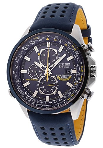 Citizen Mens Blue Angels World Chronograph Atomic Timekeeping Watch