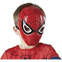 Rubies Costume Marvel Ultimate Spider-Man Molded Face Mask, Child Size