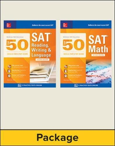 McGraw-Hill Education Top 50 SAT Skills Savings Bundle, Second Edition (Mcgraw-hill Education Top 50 Skills for a Top Score)