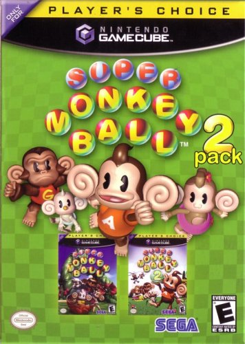 Super Monkey Ball 2-Pack Sega of America Inc. 9605511517