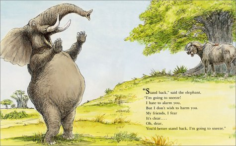 ''Stand Back,'' Said the Elephant, ''I'm Going to Sneeze!'' by Harper Collins (Image #2)