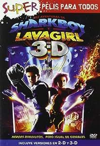Las Aventuras De Sharkboy Y Lavagirl [DVD]: Amazon.es