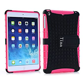 Tina@Hot sale ShockProof Hybrid Heavy Duty Stand Case Cover