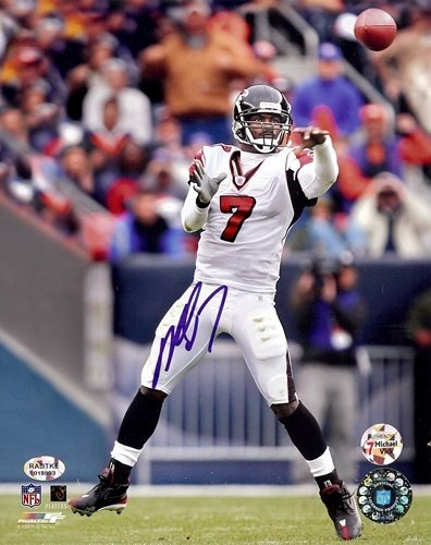 Michael Vick Autographed/Signed Atlanta Falcons 8x10 NFL Photo #1