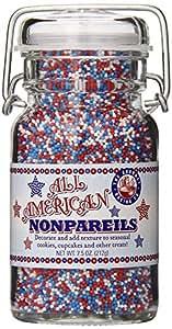 Pepper Creek Farms All American Nonpareils, 3.25 Ounce