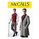 McCall Pattern Company M7003 Men's Costumes, Size MEN (Small (34-36) Medium (38-40) Large (42-44) X-Large (46-48) XX-Large (50-52))