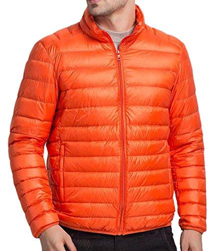 Giallo Eku Degli Puffer Packable Piumino Xl Noi Uomini Outwear Cappotto Atletico Di ga8pPnx