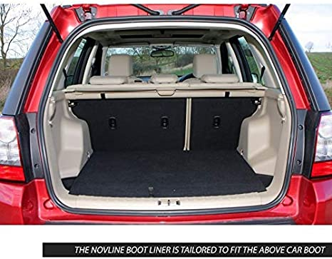 Novline Bac de Coffre pour Land Rover Freelander 2 2006 /à 2014 Noir