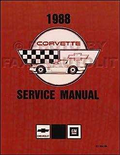 1988 1990 chevrolet corvette service manuals on cd rom gm chevy rh amazon com 1990 corvette factory service manual pdf 1990 corvette service manual pdf