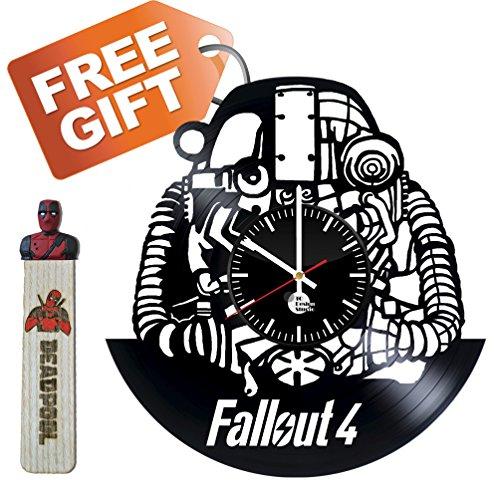 Fallout 4 Bethesda Game Studios Handmade Vinyl Record Wall C