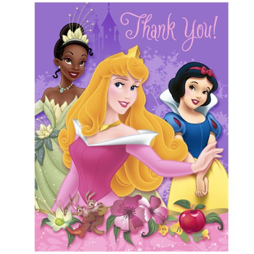 Disney Thank You Cards (Disney Princess Dreams Thank-You Notes by)