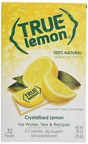 True Lemon, Lemon Crystlzd Pckt 32Pc, 2.8 FO (Pack of 12)...
