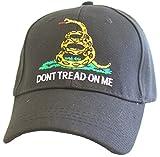 KYS Design Don't Tread On Me Black Adjustable Hat