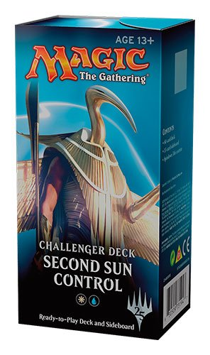 Second Sun Control MTG Magic The Gathering Challenger Deck – 75 cards