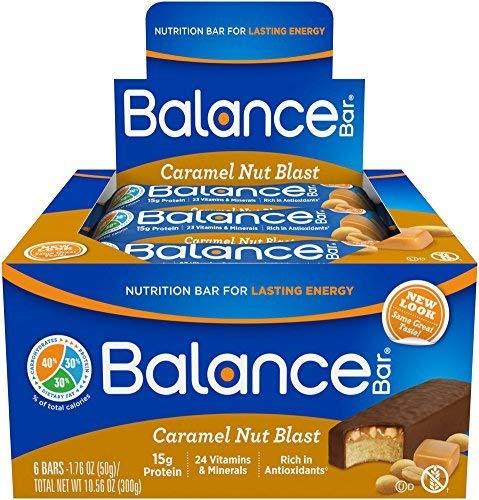 Balance Bar Caramel Nut Blast Bar 6/1.76 oz (50 grams) Bar(S) by BALANCE Bar