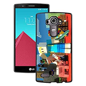 Fashionable And Unique Designed Case With Minecraft 61 Black For LG G4 Phone Case