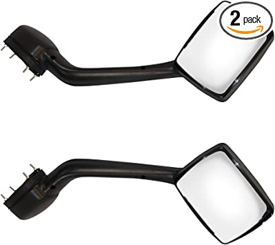 Replacement Chrome Hood Mirror Passenger Right Side Fit Kenworth T680 Peterbilt 579 587