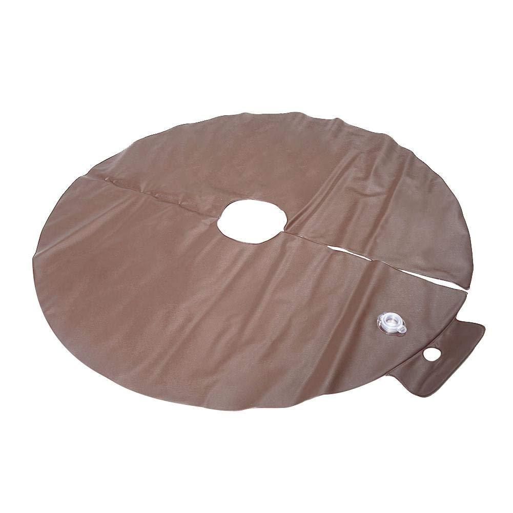 Ridecle 15 Gallonen langsame Freigabe-Baum-Bew/ässerungs-Beutel-runder PVC-Betriebs-Tropfenf/änger-Bew/ässerungs-Ring-Wasser-Beutel mit automatischem Tropfsystem der D/üse