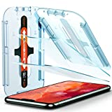 Spigen Tempered Glass Screen Protector [Glas.tR EZ Fit] designed for iPhone 11 Pro Screen Protector, iPhone Xs/iPhone X [5.8 inch] [Case Friendly] - 2 Pack