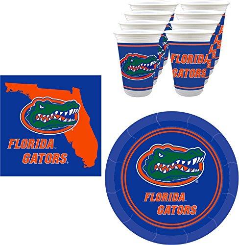 Westrick Florida Gators Party Pack - 48 Pieces (Serves 16)